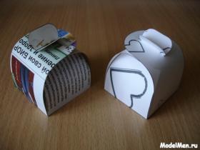 Что сделать из пачек сигарет