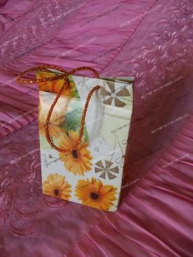 Пакет для подарков из упаковочной бумаги. Мастер-класс