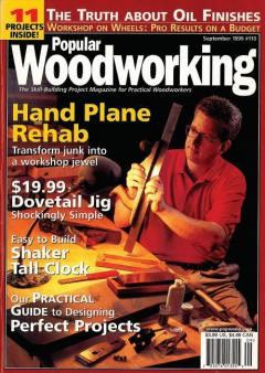 Журнал Woodworking, сентябрь 1999 #110