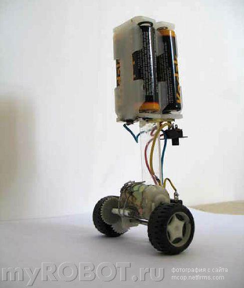 Схемы самоделок роботов
