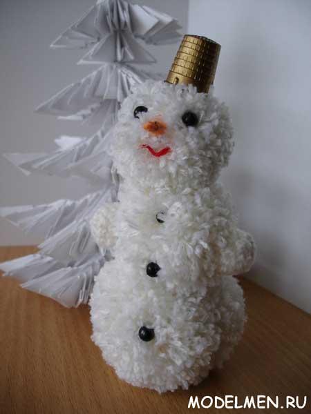 Снеговик сделанный своими руками фото 579