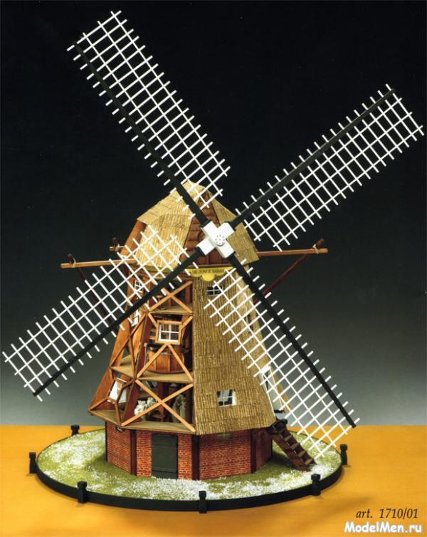 Ветряная мельница своими руками