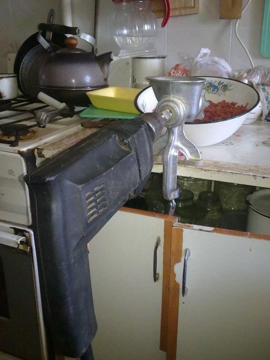 Сделай сам своими руками кухонный комбайн