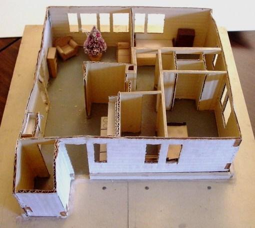 Сделать своими руками кукольную мебель из картона своими руками 83