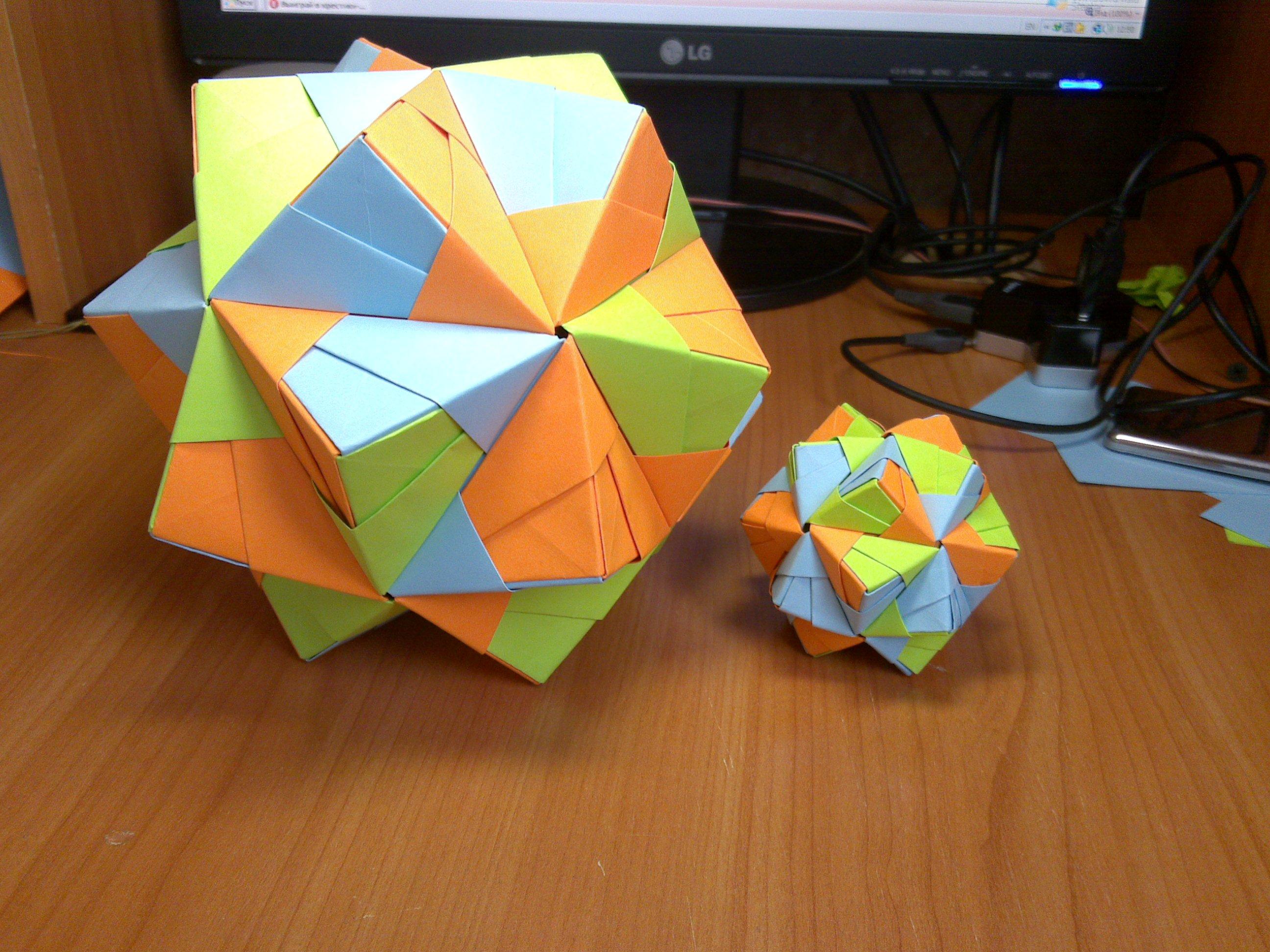 Как сделать макет геометрической фигуры