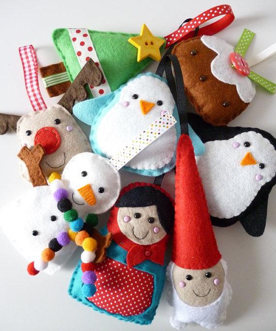 Новогодние сувениры своими руками игрушки фото 243