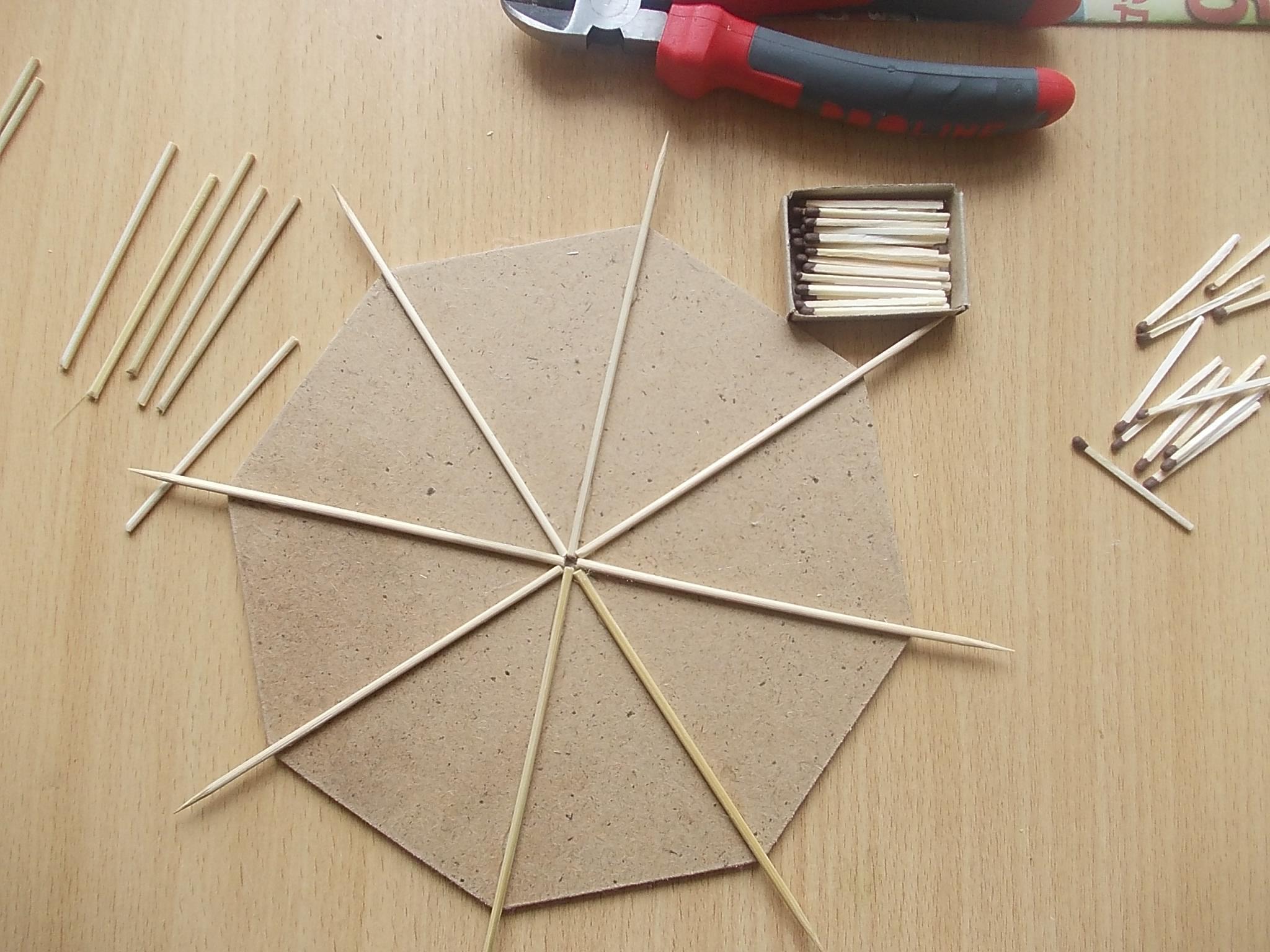 панно из деревянных шпажек своими руками фото количество