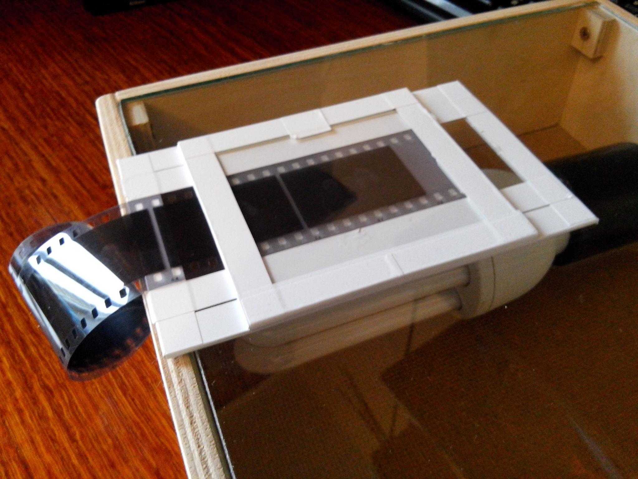 Модуль для сканирования фотопленки