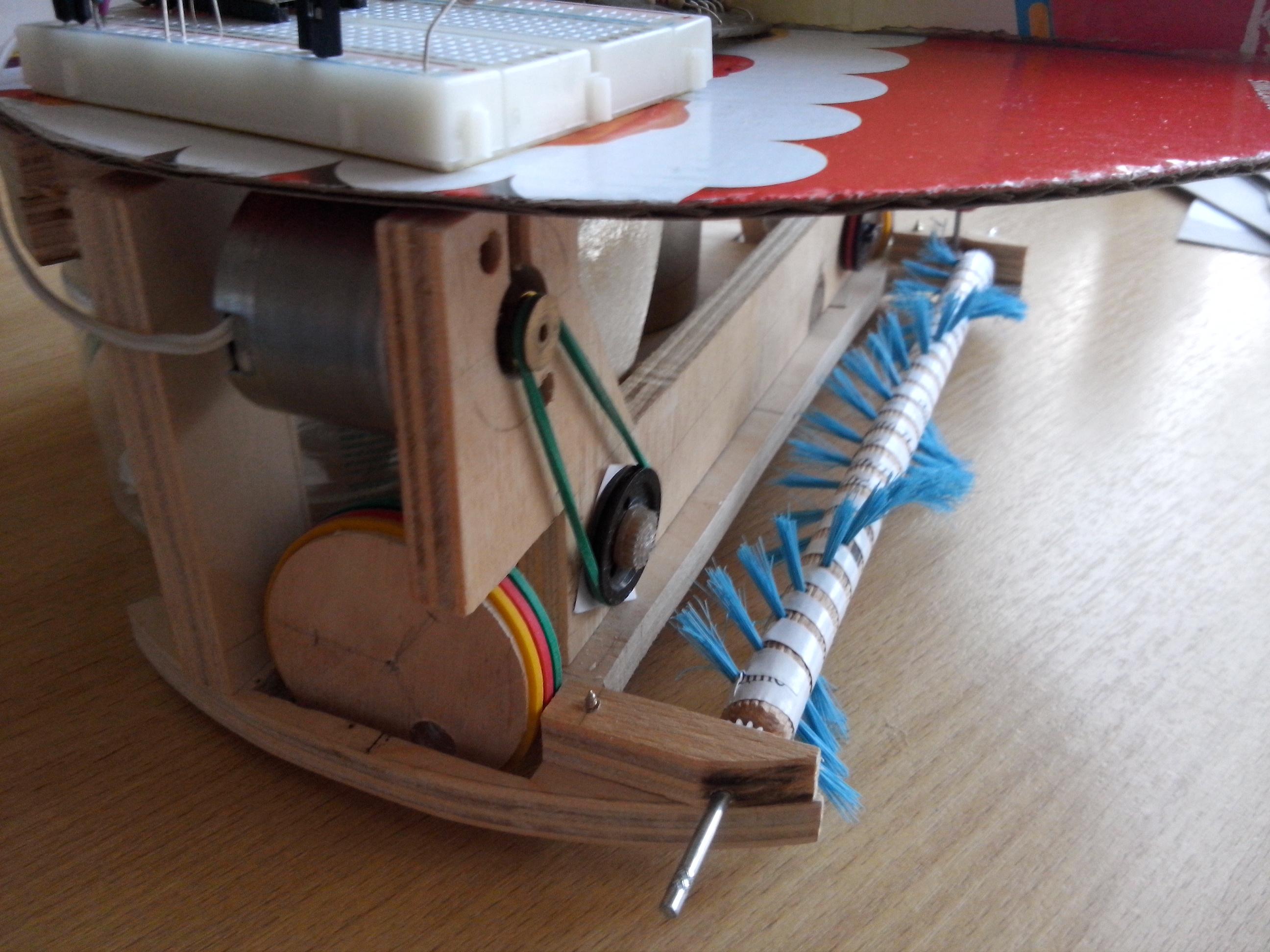 Как сделать робот пылесос своими руками фото 64